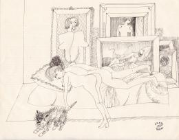 Orosz, János - Siesta before the Paintings, 1980