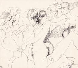 Orosz János - Összefonódás, 1983