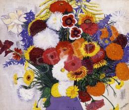 Vörös, Géza - Still Life with Flowers