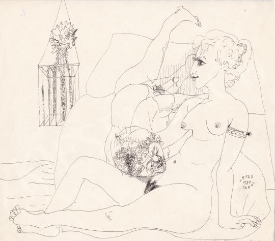 Eladó Orosz János - Intim hangulat, 1980 festménye