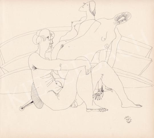 For sale Orosz, János - Threesome, 1981 's painting