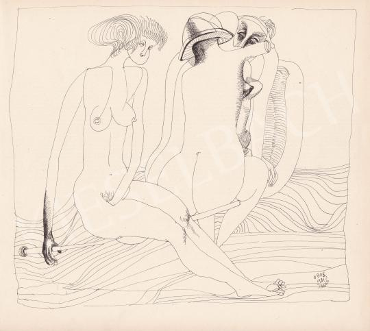 For sale Orosz, János - Three Graces, 1981 's painting