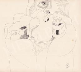 Orosz, János - Portrait of a Woman (Hommage a Picasso), 1981