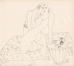 Orosz János - Összefonódó idomok, 1981