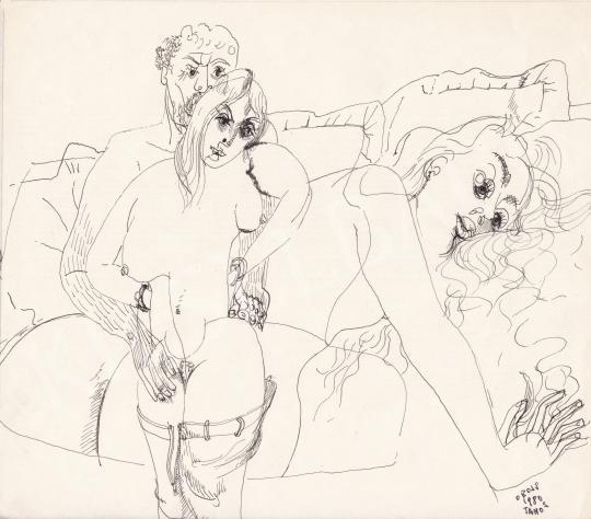 Eladó Orosz János - Vágykép, 1980 festménye