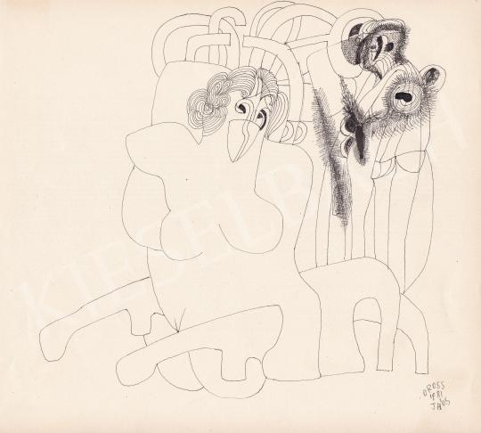 Eladó Orosz János - Termékenység, 1981 festménye