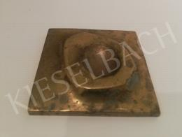 Csiky, Tibor - Polished Bronze Relief, 1971