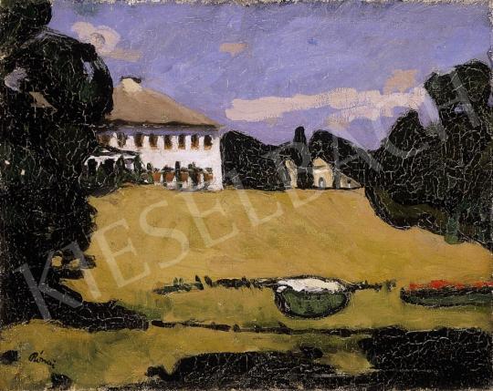 Rippl-Rónai József - Parkrészlet kastéllyal | 6. Aukció aukció / 45 tétel