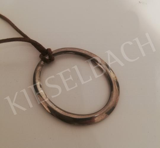 For sale Csiky, Tibor - Oval Metal Pendant, 1970s 's painting