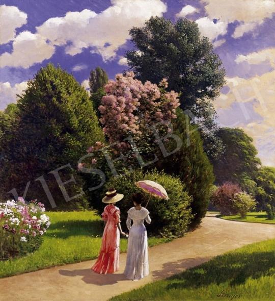 Szinyei Merse, Pál - In the Park, 1910 | 6th Auction auction / 46 Lot
