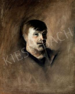 Mednyánszky, László - Young Man with Pipe