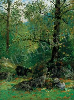 Kaufmann, Adolf - Erdőrészlet, 1905