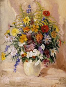 Halász, Ferenc - Still Life of Flowers