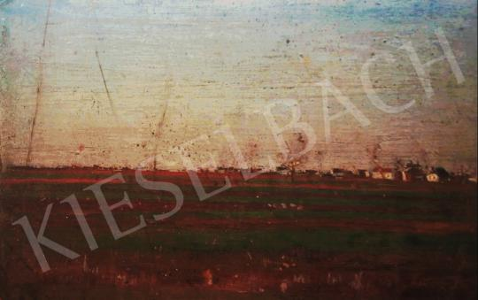 For sale  Unknown Hun. painter, first third of the 20th - Hungarian Landscape, c. 1930 's painting