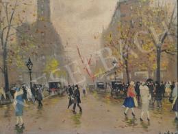 Berkes, Antal - Street Scene