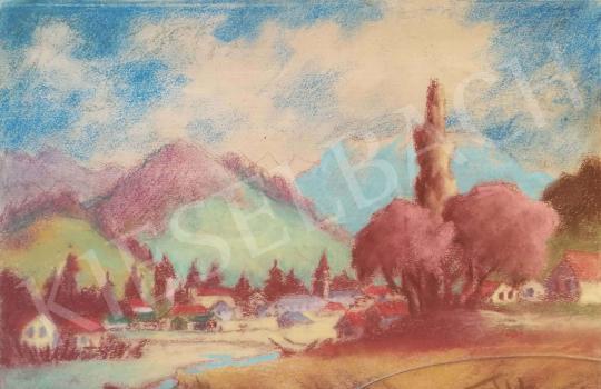 Eladó Sztelek Norbert - Nagybánya látképe festménye