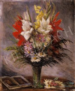 Mikola András - Virágcsendélet