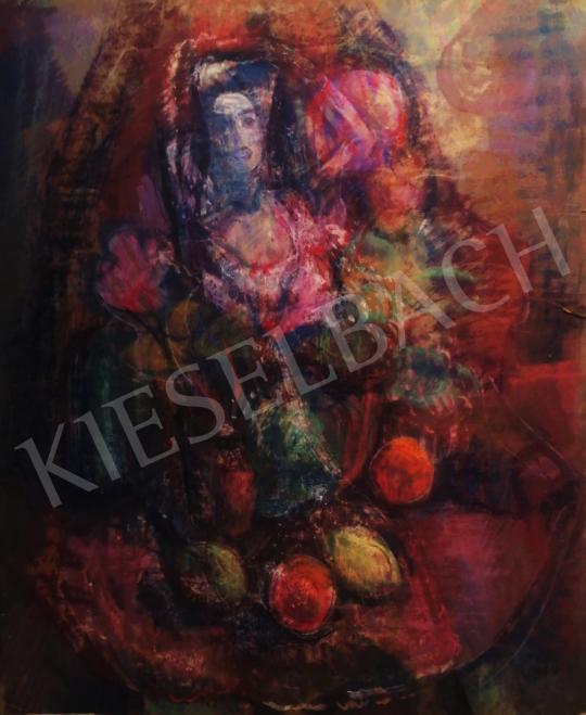 Eladó  Vén Emil - Ciklámenes csendélet, 1939 festménye
