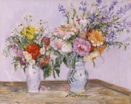 Boldizsár, István - Still Life of Flowers