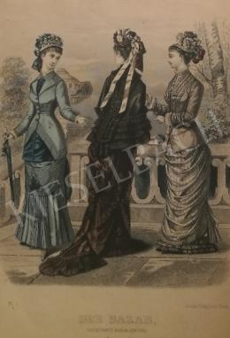 Ismeretlen művész - 19. század divatja (Der Bazar)