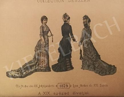 For sale Unknown artist - 19th century fashion (1879) 's painting