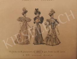 Ismeretlen művész - 19. század divatja (1892)
