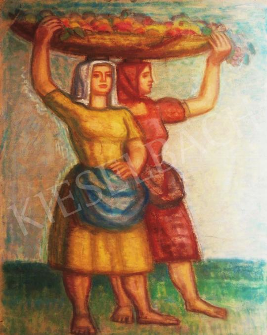 For sale  Vén, Emil - Fruit Pickers, 1950 's painting