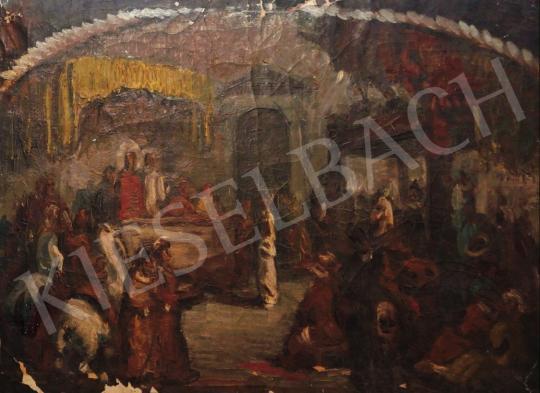 Eladó  Vén Emil - Bibliai jelenet, 1928 festménye