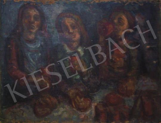 Eladó  Vén Emil - Testvérek, 1927 festménye