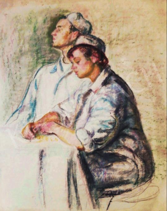 Eladó  Vén Emil - Pannótan II., 1955 festménye