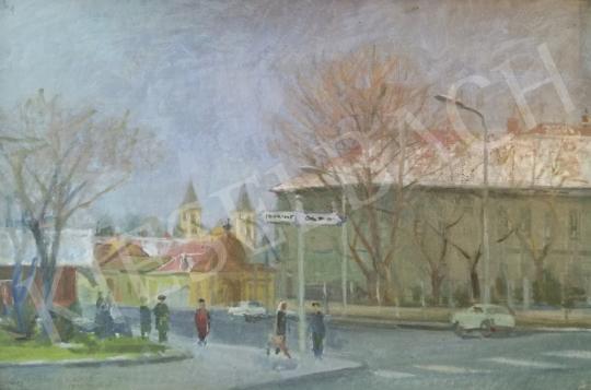 Eladó  Zirkelbach László - Gyöngyös festménye