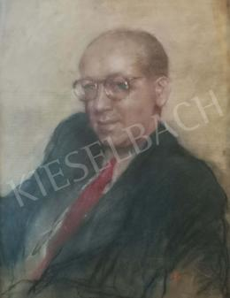 Fried, Pál - Litterateur (Red Tie), 1940