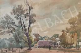 Dobroszláv, Lajos - Park in Tata, 1945