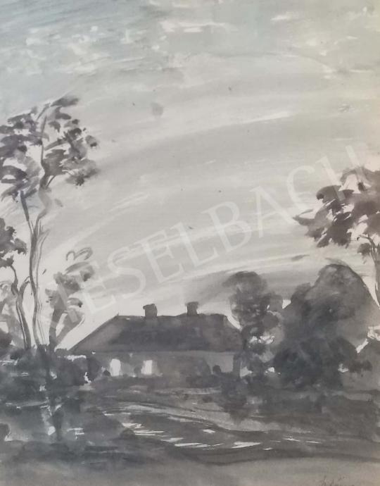 For sale Szlányi, Lajos - Farm 's painting