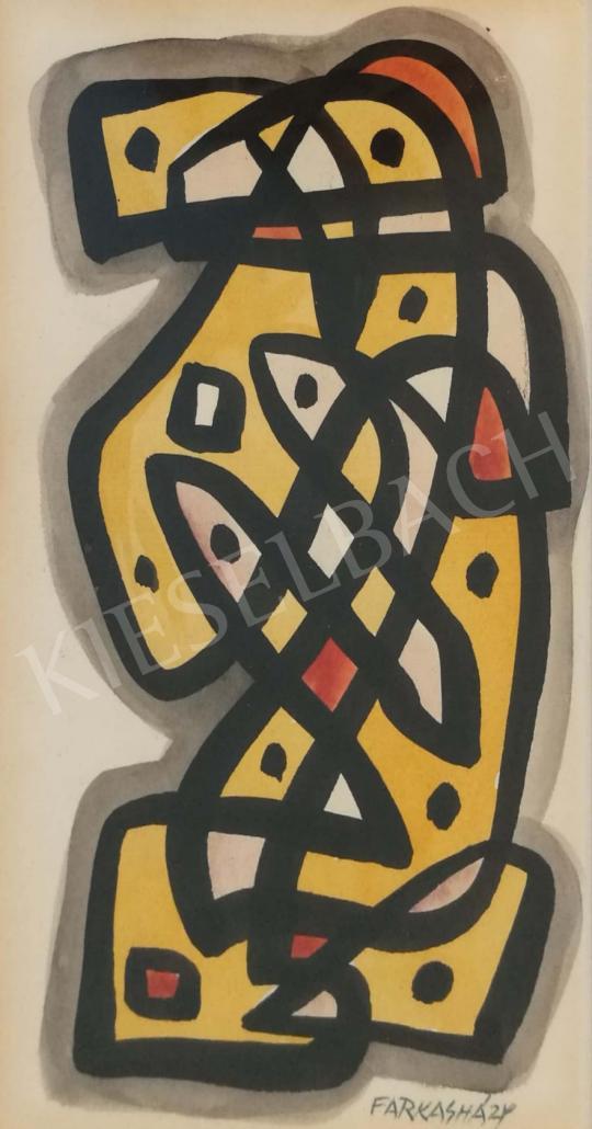 For sale Farkasházy, Miklós - Abstract 's painting