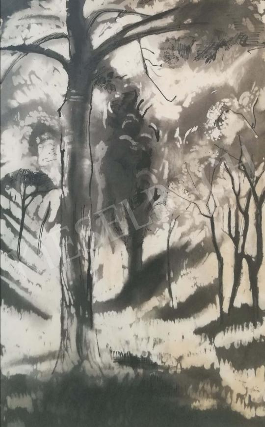 For sale  Szőnyi, István - Snowy trees 's painting