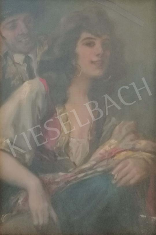 Eladó Geiger Richárd - Táncoslány festménye