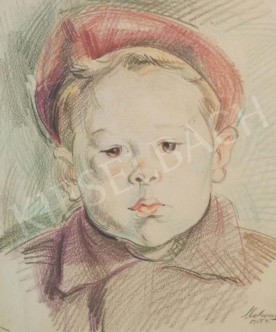 For sale Medveczky, Jenő - Little Boy, 1955 's painting
