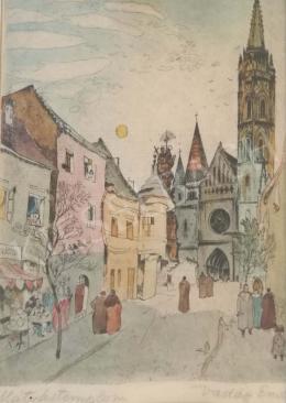 Vadász Endre - Mátyás templom