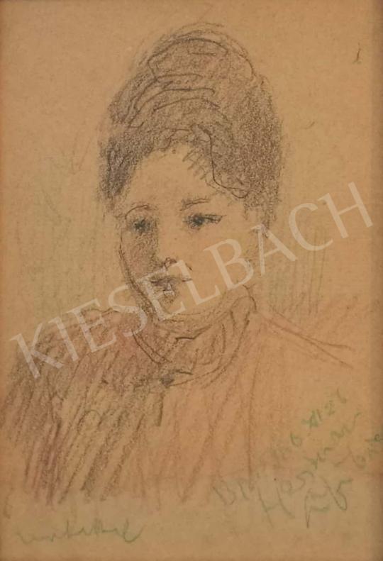 Eladó  Herman Lipót - Női portré festménye
