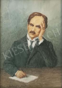 Barabás, Gizella (Reissmann Gizella, Barabás  - Portrait of Babits Mihály