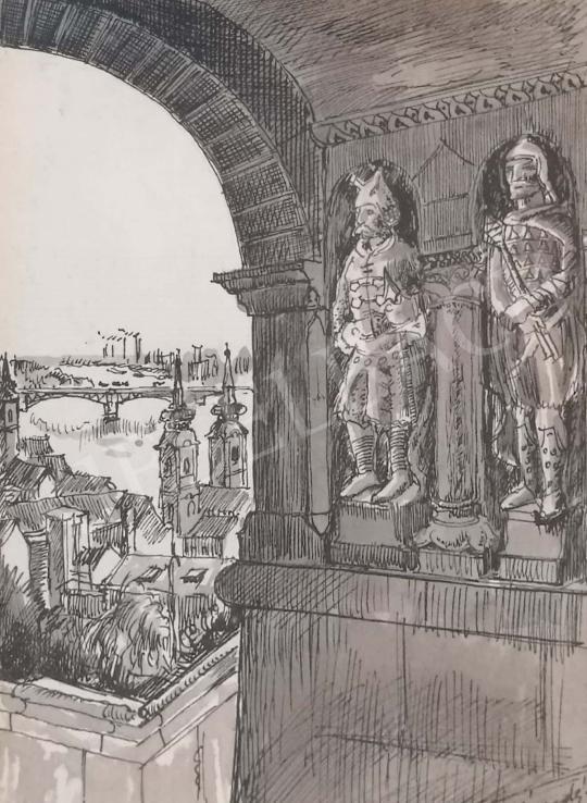 Eladó Élesdy István - Budapest festménye