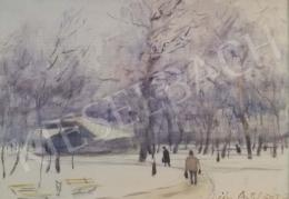 Diósy Antal - Városliget télen