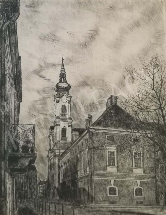For sale  Éva Skultéty - Budapest, Fő street 's painting