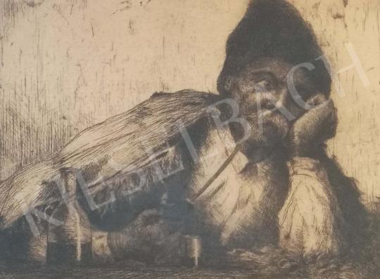 Eladó Lindenfeld Emil - Kocsmában festménye