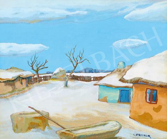 Eladó  Iosif Steurer - Téli napsütés festménye