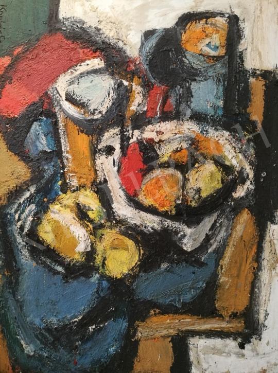 Eladó Konfár Gyula - Gyümölcsös csendélet festménye