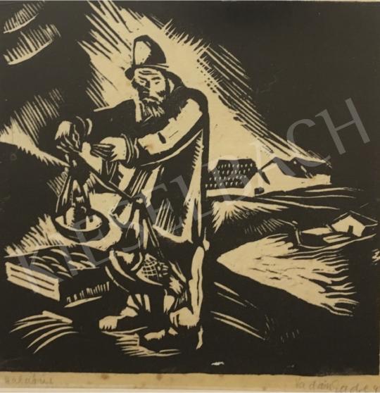 Eladó Vadász Endre - Halárus, 1927 festménye