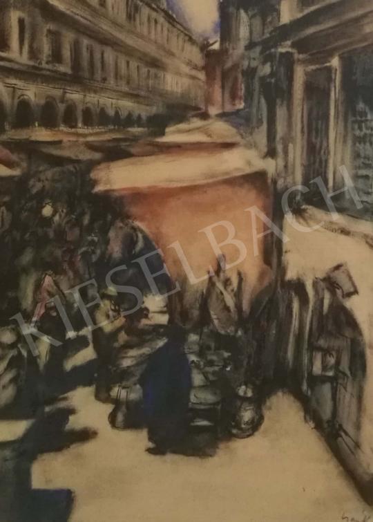 Eladó  Csánky Dénes - Velence, Rialto híd festménye