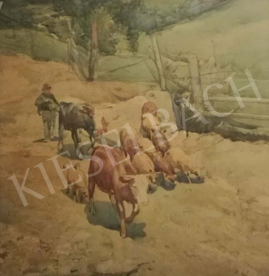 Eladó  Csánky Dénes - Terelés festménye